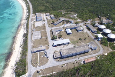 Gerace Research Centre aerial view.