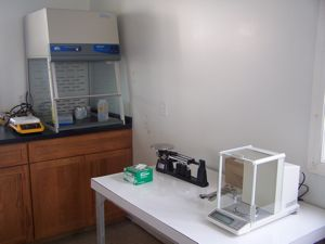 Gerace Research Centre analytical lab.